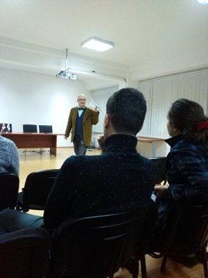 ევროკომისიის ექსპერტის ლექცია კავკასიის უნივერსიტეტში