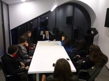 ახალგაზრდა დიპლომატთა ლიგის შეხვედრა ახალ საინიციატივო ჯგუფთან