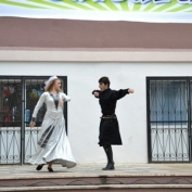 კულტურის ფესტივალი შავი ზღვის საერთაშორისო უნივერსიტეტში