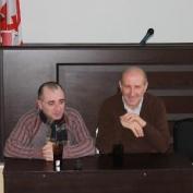 ჟურნალისტი ლევან ჯავახიშვილი კავკასიის საერთაშორისო უნივერსიტეტის სტუდენტებს შეხვდა