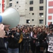 აქციები საქართველოს უნივერსიტეტში ადმინისტრაციასთან მოლაპარაკებით დასრულდა